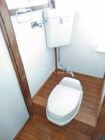 光荘 6号室のトイレ