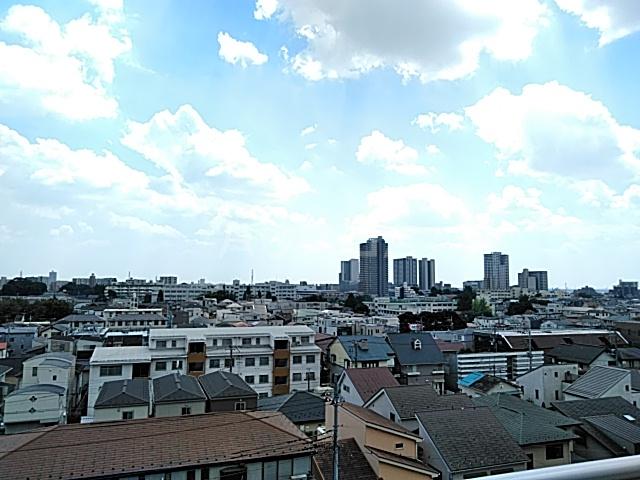 アクシーズタワー浦和岸町Ⅲ 703号室の景色