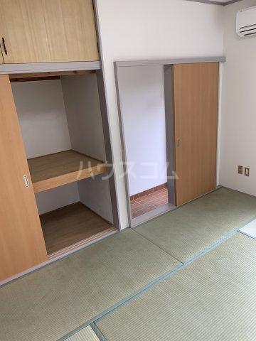 ブルーウッド 101号室の収納