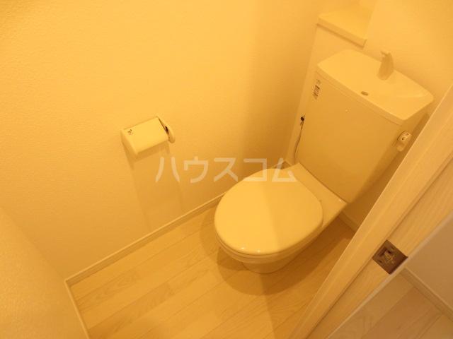 クレイドル千葉 602号室のトイレ