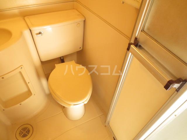 日恵ハウス 202号室のトイレ
