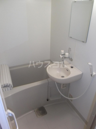 クレセントD 203号室の洗面所