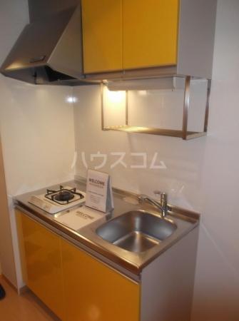 クレセントD 203号室のキッチン