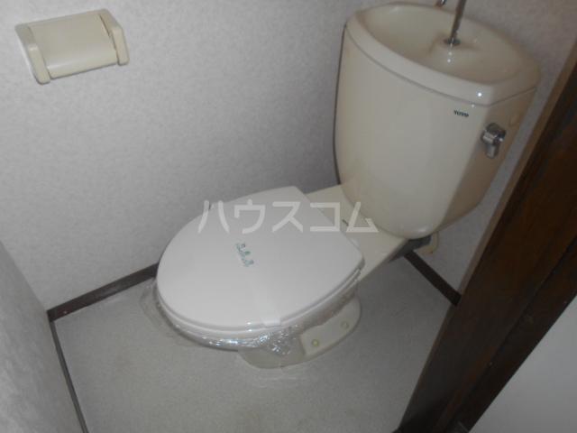 ヒルサイドテラス 202号室のトイレ