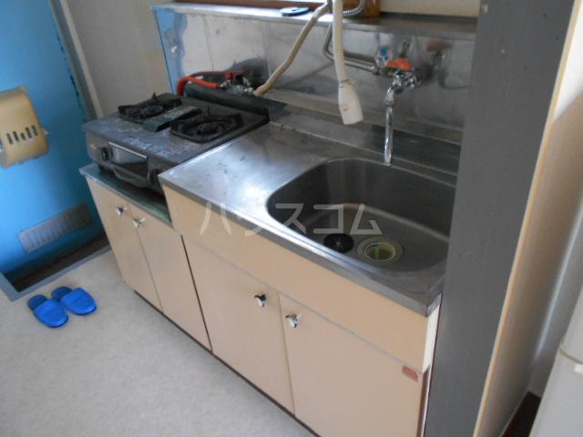 グリーンプラザ 202号室のキッチン