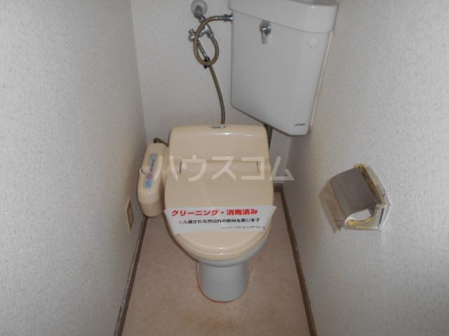グリーンプラザ 202号室のトイレ