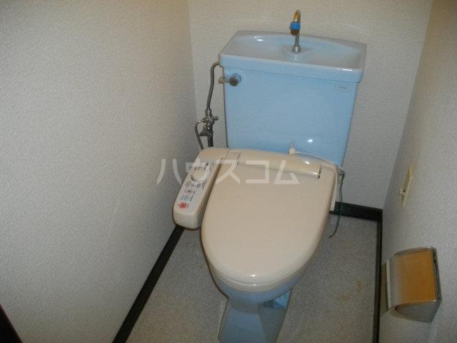 パークレーン和地山 A-1号室のトイレ