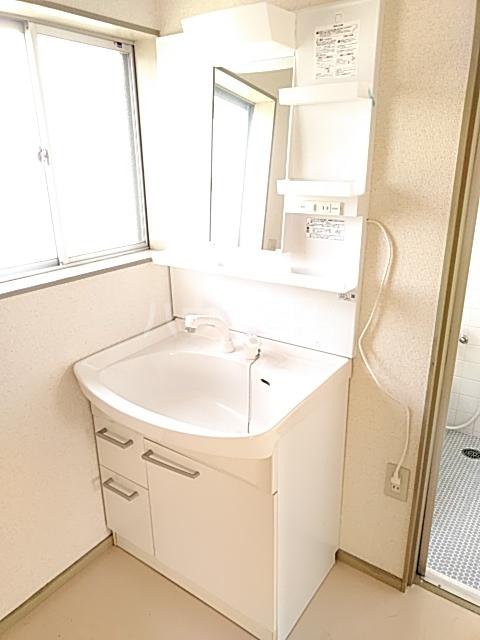 島田様貸家の洗面所