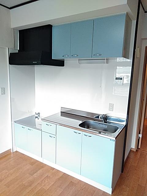 東寺尾マンション 103号室のキッチン