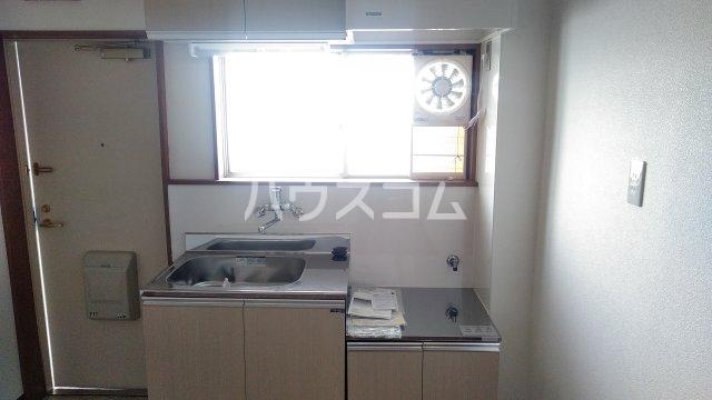 ビラ福一 401号室のキッチン