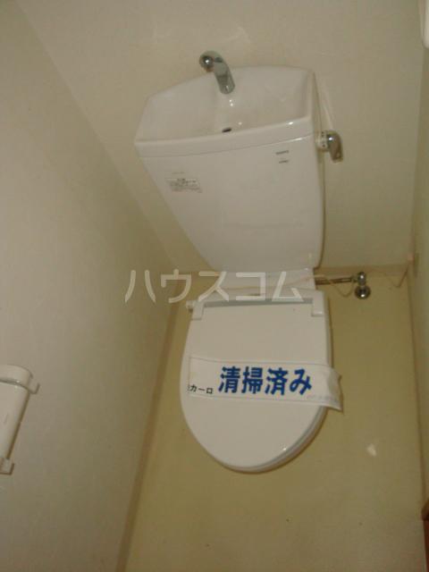 Vg.Tree 6G号室のトイレ