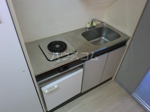 NATURE AND AIR 4A号室のキッチン