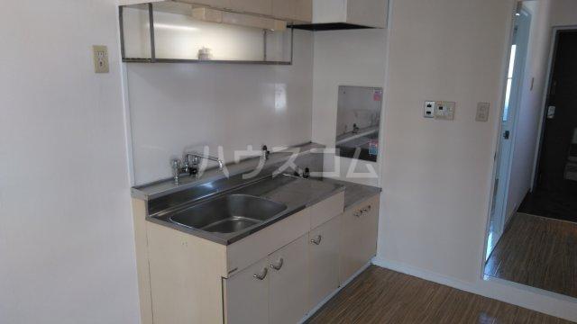 山嵜ビル 205号室のキッチン