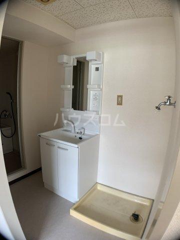 山嵜ビル 401号室の洗面所