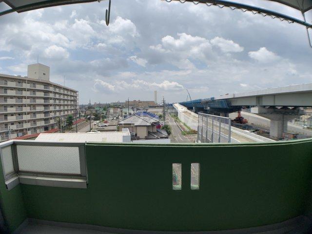 山嵜ビル 401号室の景色