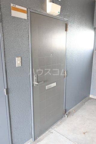 シングルライフ大口 4B号室の玄関