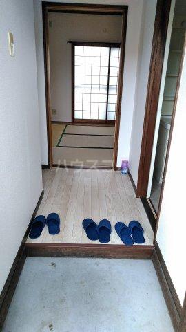 栄グランドハウス 201号室の玄関