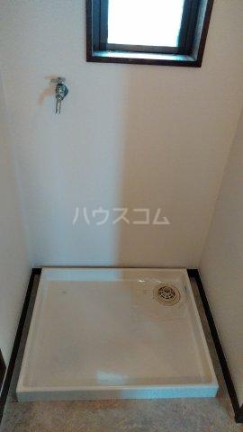 栄グランドハウス 201号室の洗面所