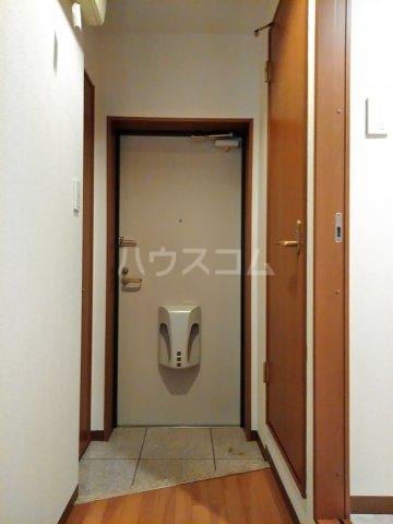 コアノス荒子 102号室の玄関