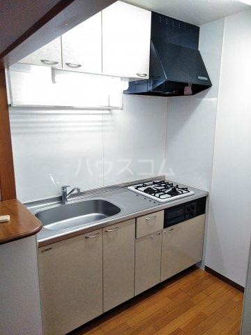 コアノス荒子 102号室のキッチン