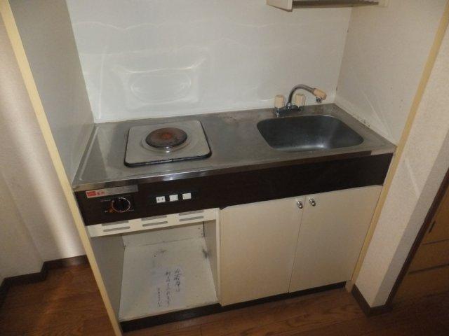 第5ラインビル 306号室のキッチン