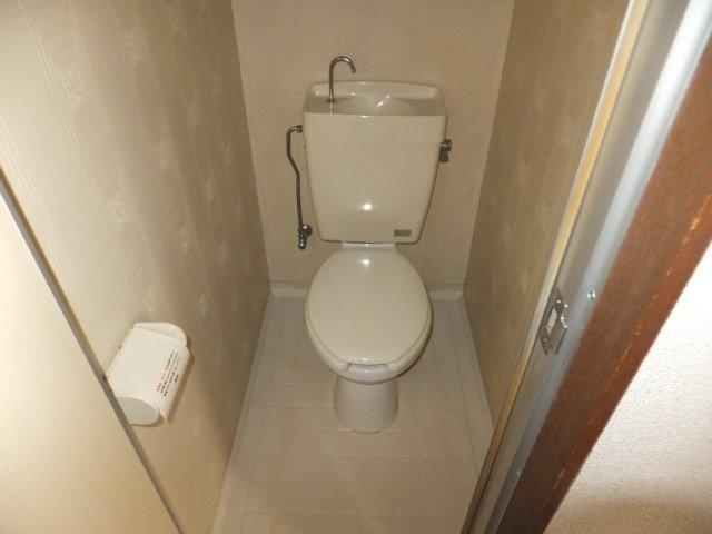 第5ラインビル 306号室のトイレ
