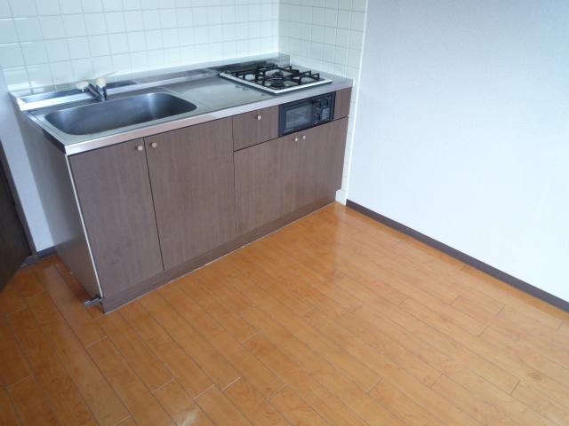 三鈴ライフ 1C号室のキッチン