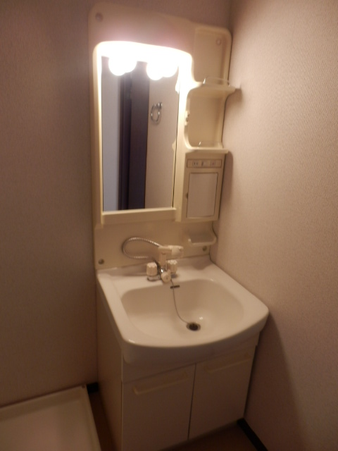 三鈴ライフ 1C号室の洗面所