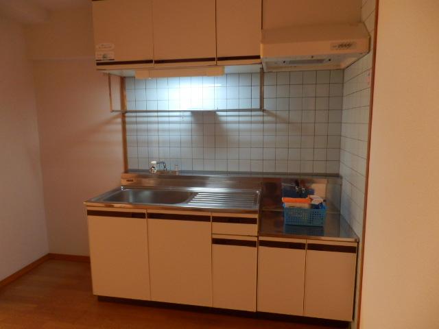 クレヴィア甚目寺 702号室のキッチン