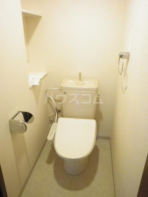 ラフィネ南十一番 503号室のトイレ