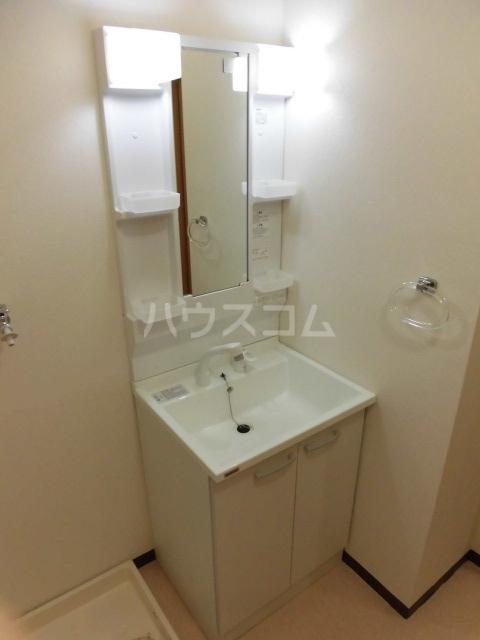 クオーレ 202号室の洗面所