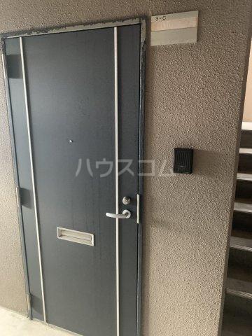 中花明豊ビル 3C号室の玄関