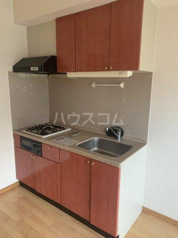 中花明豊ビル 3C号室のキッチン