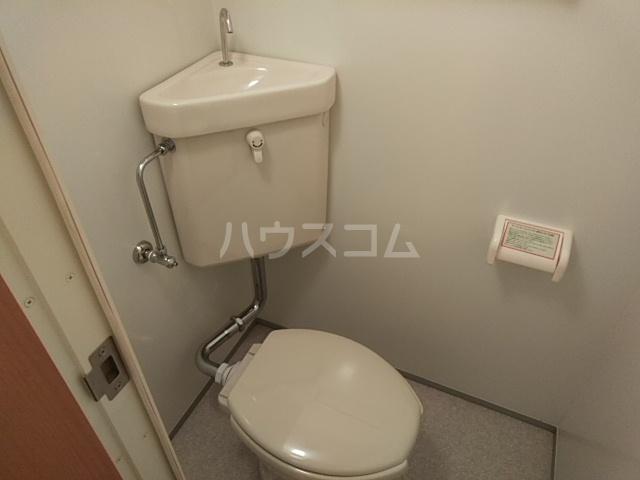 フロンティアU 206号室のトイレ