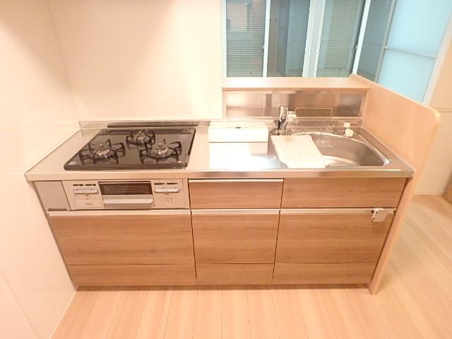 レクシオン横井 103号室のキッチン