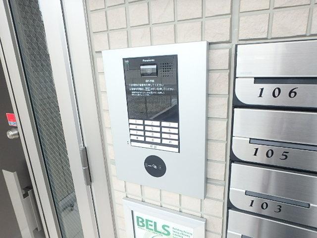 レクシオン横井 103号室のセキュリティ