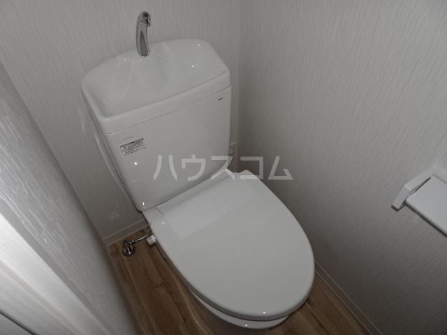 AXIA 八熊 403号室のトイレ