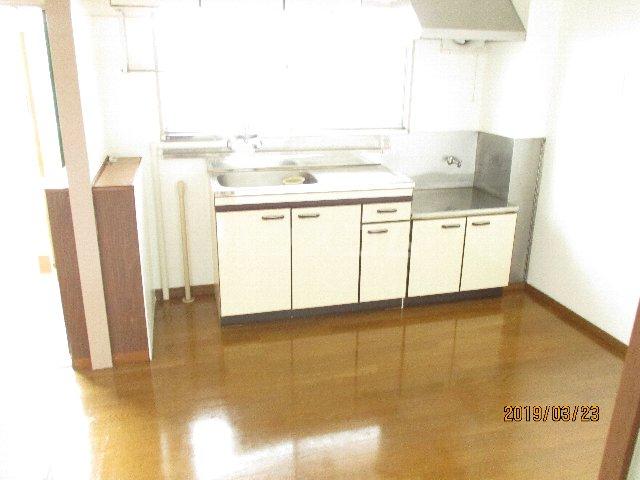 醍醐ハイツ 105号室のキッチン