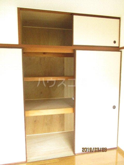 醍醐ハイツ 105号室の収納