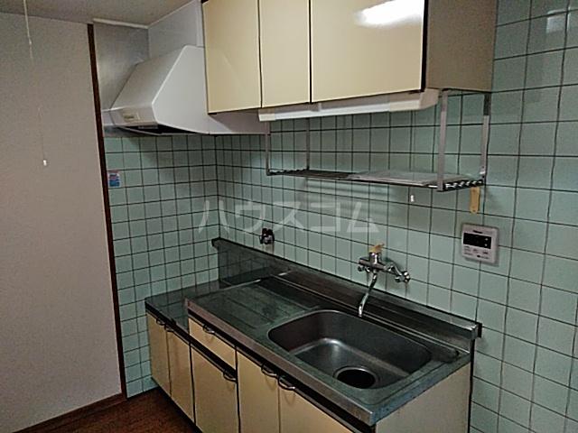 グリ-ンヒルJ&J 203号室のキッチン