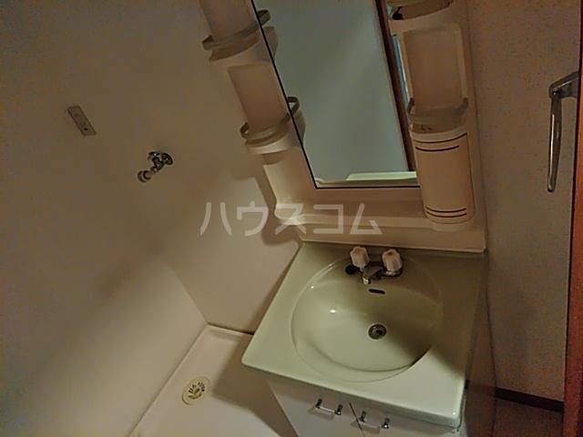 グリ-ンヒルJ&J 203号室の洗面所