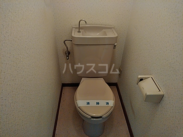 グリ-ンヒルJ&J 203号室のトイレ