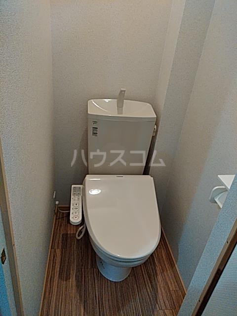 楠荘 3号室のトイレ