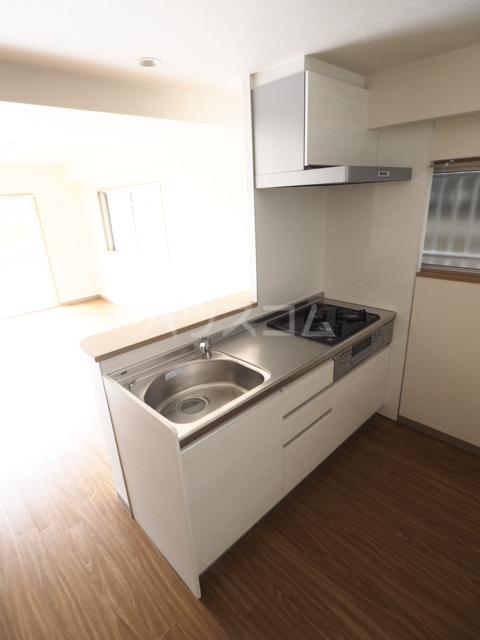 メゾン木村 308号室のキッチン