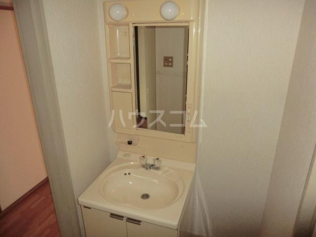 クラウンハイツ 301号室の洗面所