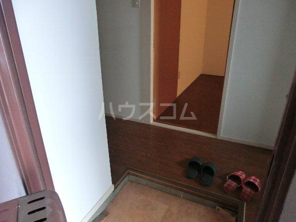 コーポ松栄 201号室の玄関