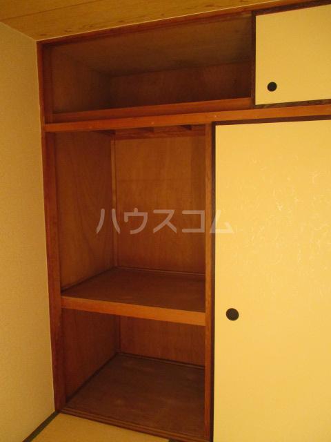 コーポ比叡 201号室の収納