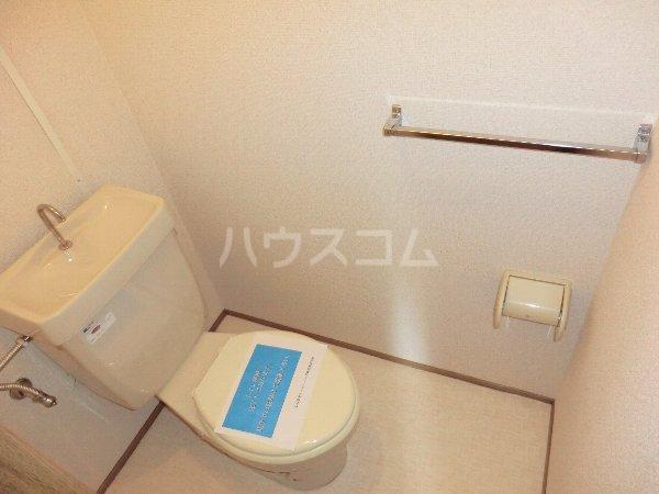 フォレスト 102号室のトイレ