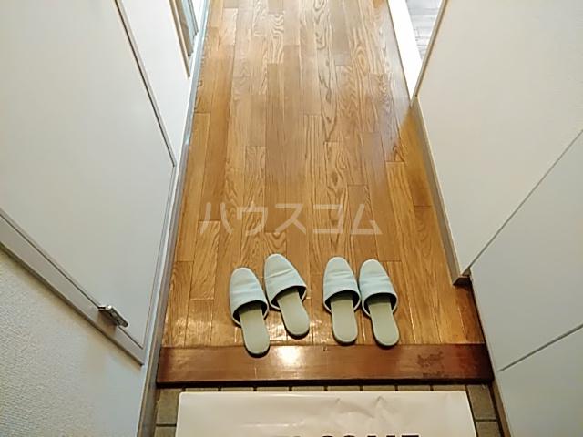 ロイヤルハウス喜多山 202号室の玄関