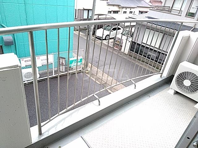 ロイヤルハウス喜多山 202号室のバルコニー